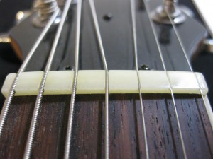 7-string guitar nut