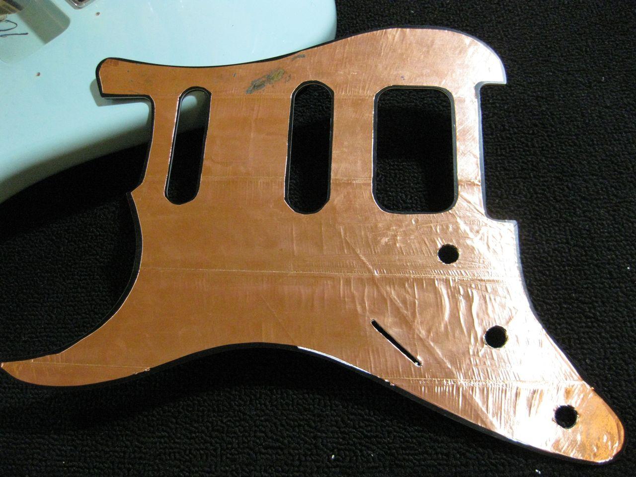 shielding a guitar strange guitarworks. Black Bedroom Furniture Sets. Home Design Ideas