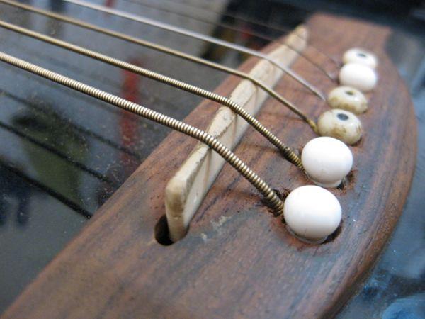 Acoustic Guitar Saddle Strange Guitarworks