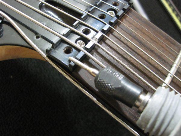 8 string nut strange guitarworks. Black Bedroom Furniture Sets. Home Design Ideas