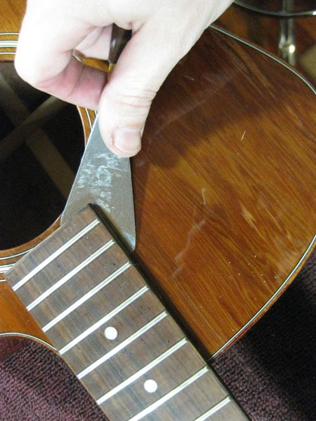 how to make a bolt on acoustic guitar neck