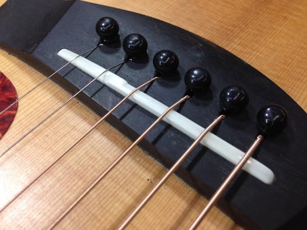 Making A Bone Saddle Strange Guitarworks